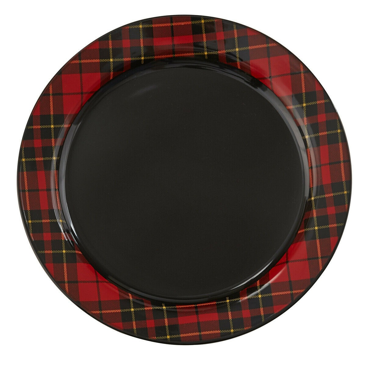 Sportsman Plaid Dinner Plates