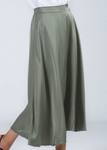 Zenara Leonor Satin Skirt!!! TWO COLORS!!!