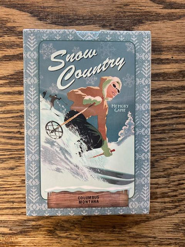 "Columbus, Montana: ""Snow Country"" Matching Card Game!!!"
