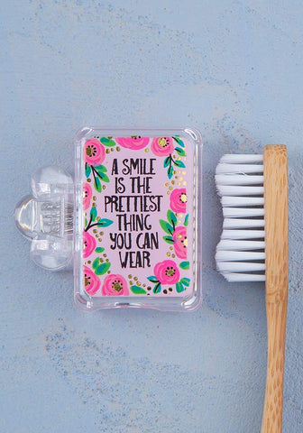 Natural Life Smile is the Prettiest Toothbrush Cover