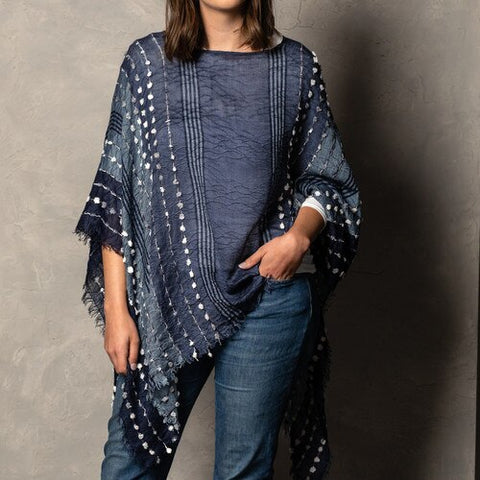 Textured Poncho!!! THREE COLOR OPTIONS!!!