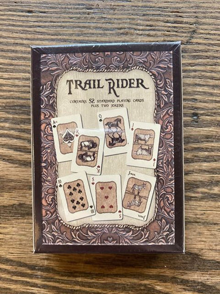 "Columbus, Montana: ""Trail Rider"" Playing Cards!!!"