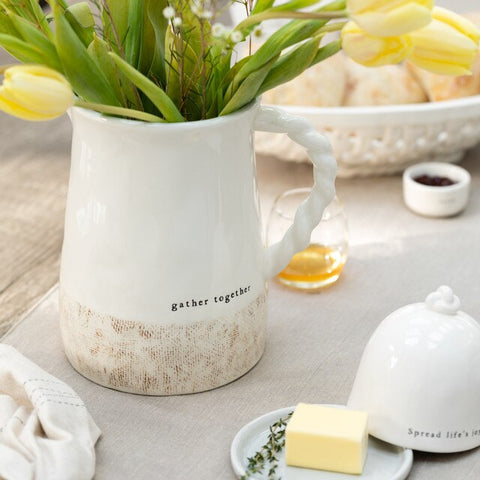 Gather Together Woven Pitcher!!!