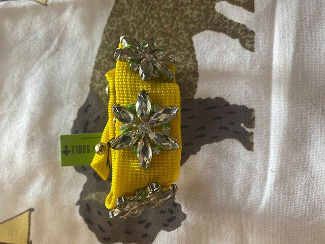 Gypsy Soule Yellow Snap Bracelet