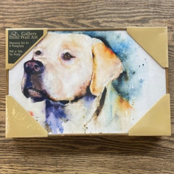 Yellow Lab Wall Art