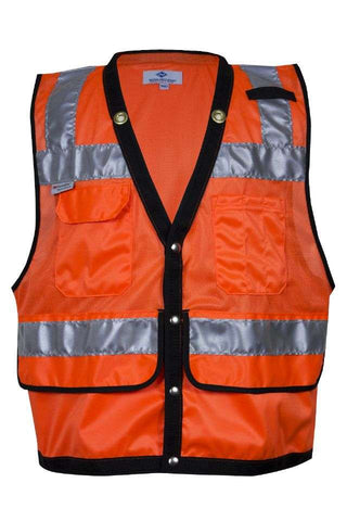NSA Mesh Construction Survey Vest (8015)