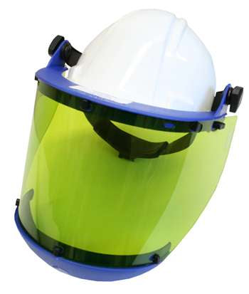 NSA 20 CAL/CM² FACESHIELD WITH HARD HAT (H20HAT20CALCAFS)