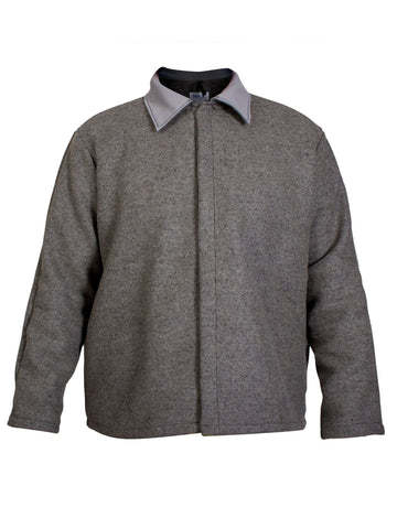 NSA Grey Wool Coat - (C09WN)