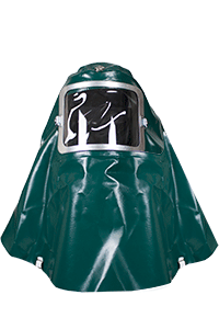 NSA PVC CHEMICAL SPLASH PROTECTION HOOD - (H57GV001)