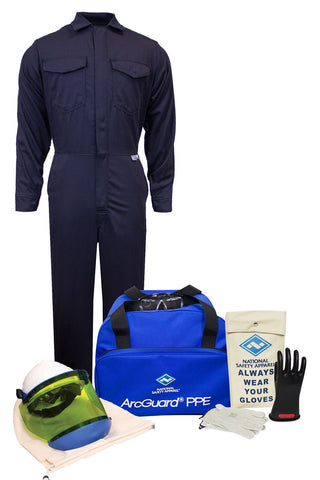 NSA ArcGuard® Arc Flash Kit with UltraSoft® Coverall (KIT2CV08)