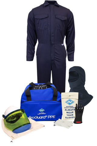 NSA ArcGuard® UltraSoft® Arc Flash Kit with Coverall & Balaclava (KIT2CV11B)