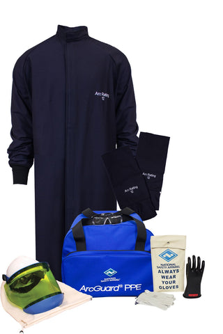 NSA ArcGuard® UltraSoft® Arc Flash Kit with Long Coat and Leggings (KIT2LC11)