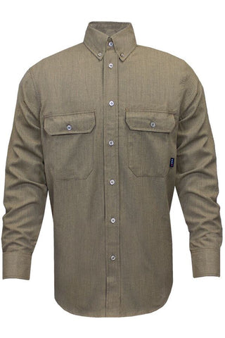 NSA 7 oz. CARBONCOMFORT™ Work Shirt Tan - 12 Cal (SHR-DWWS03-TN)