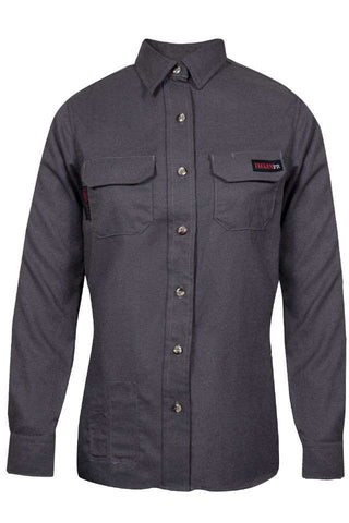 NSA Women's TECGEN Select™ FR Work Shirt in Grey - 8 Cal (TCGSSWN00115)