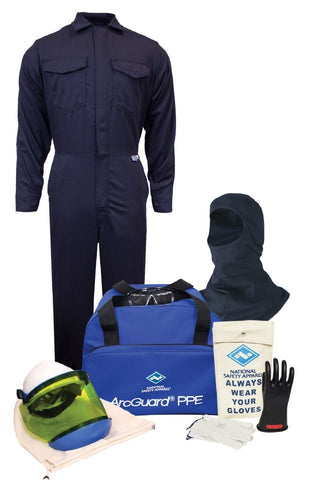 NSA ArcGuard® Arc Flash Kit with UltraSoft® Coverall & Balaclava (KIT2CV08B)