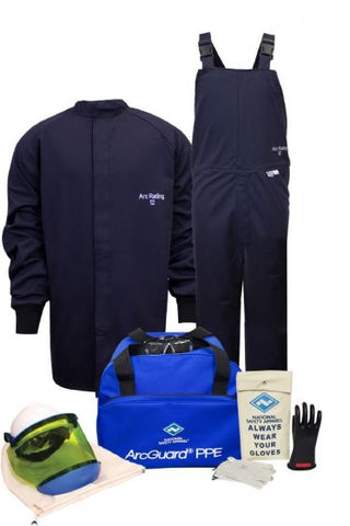 NSA ArcGuard® UltraSoft® Arc Flash Kit with Short Coat and Bib Overall (KIT2SC11)