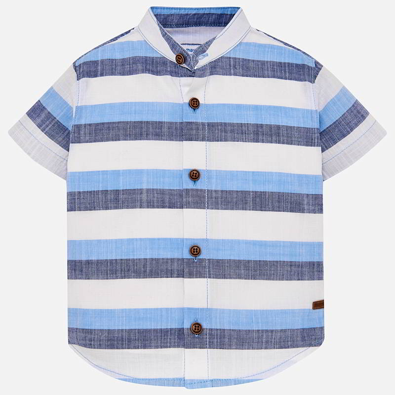 Boys Striped T-Shirt Blue