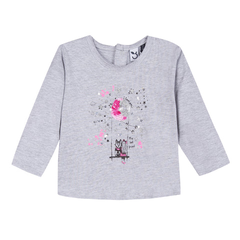 Baby & Toddler Girls Ice- Cream Print T-Shirt