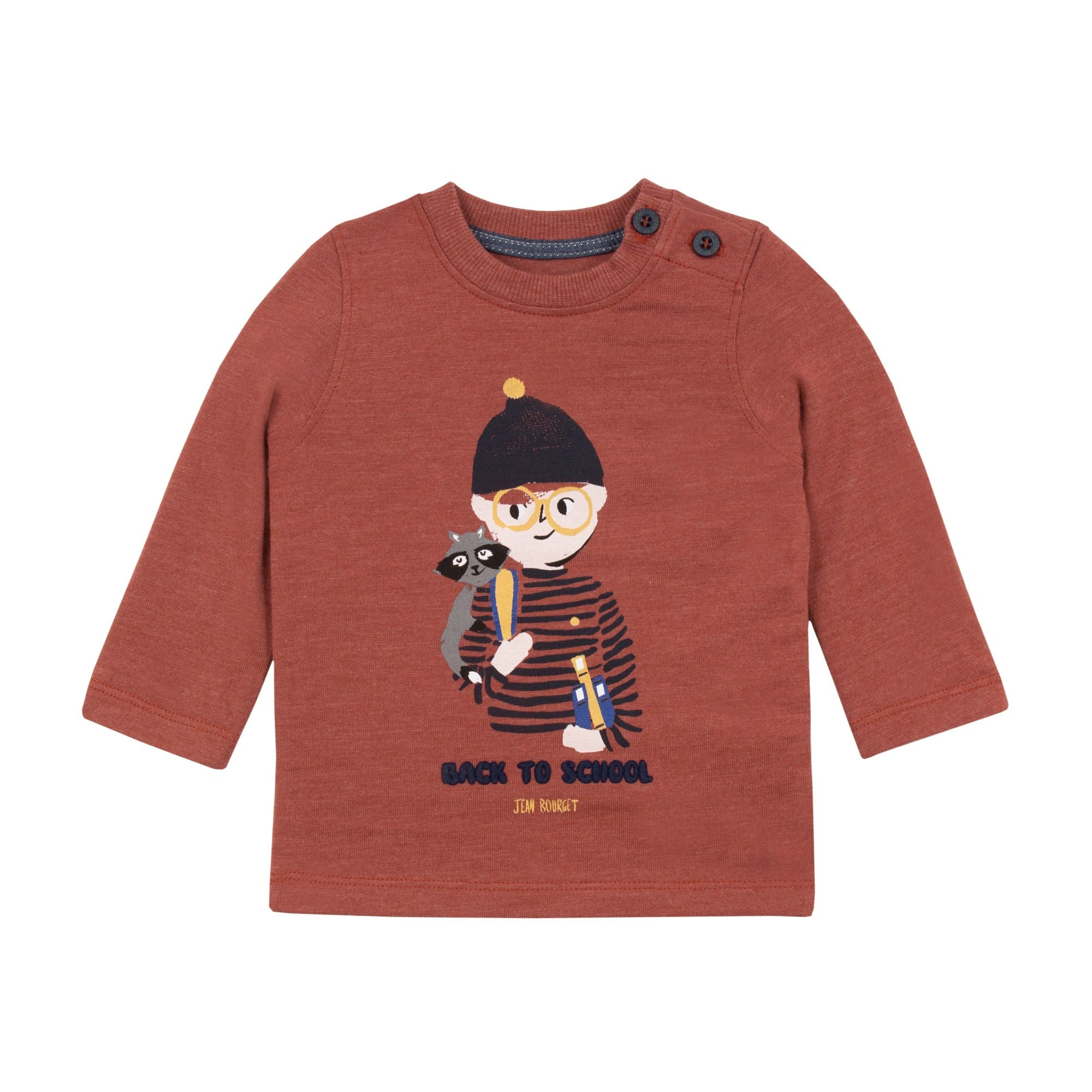 Baby & Toddler Boys Graphic Back to School Print Sweater