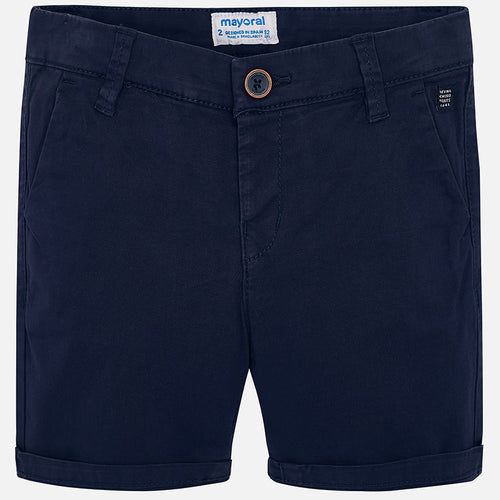 Basic Twill Chino Boy Shorts