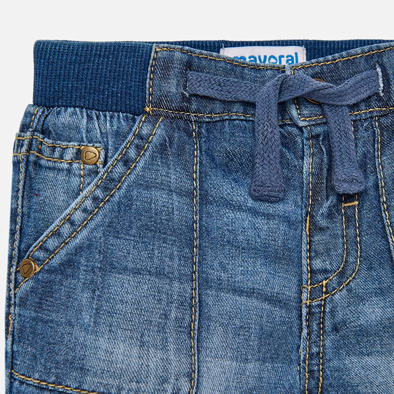Boys Basic Denim Shorts
