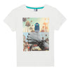 Boys Skateboard Thumbs Up Printed T-Shirt