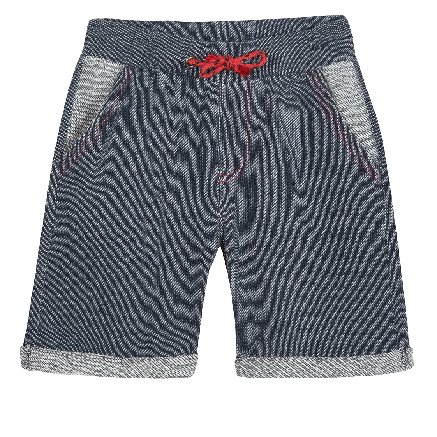 Boys Sporty And Soft Cotton Bermuda Shorts
