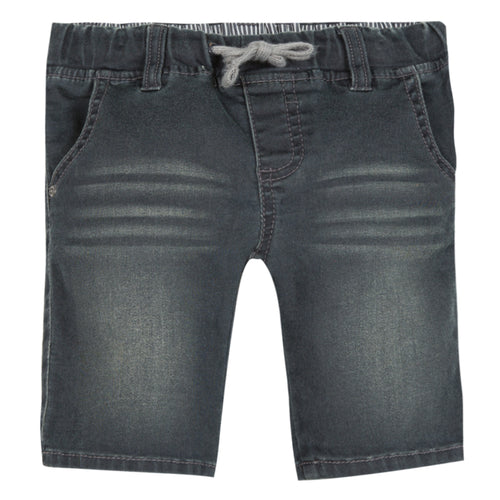 Baby & Toddler Boys Black Denim Bermuda Shorts