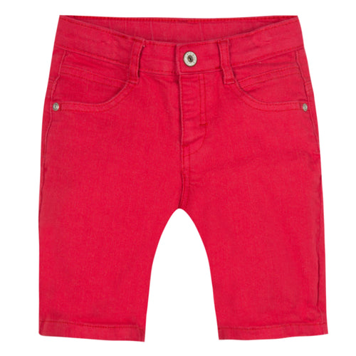 Baby & Toddler Boys Red Bermuda Shorts