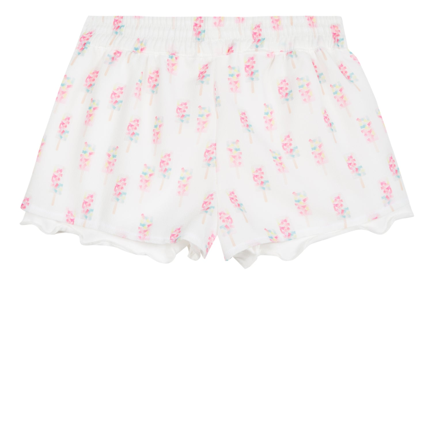 Baby & Toddler Girls Ice-Cream Printed Shorts