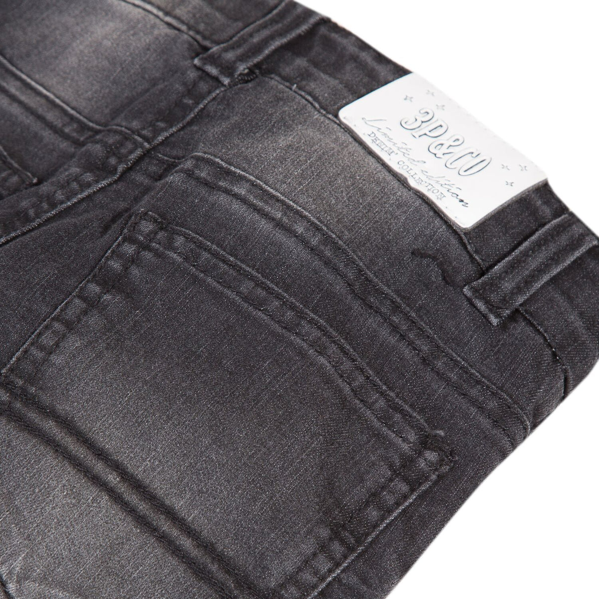 Boys Black Denim Jean