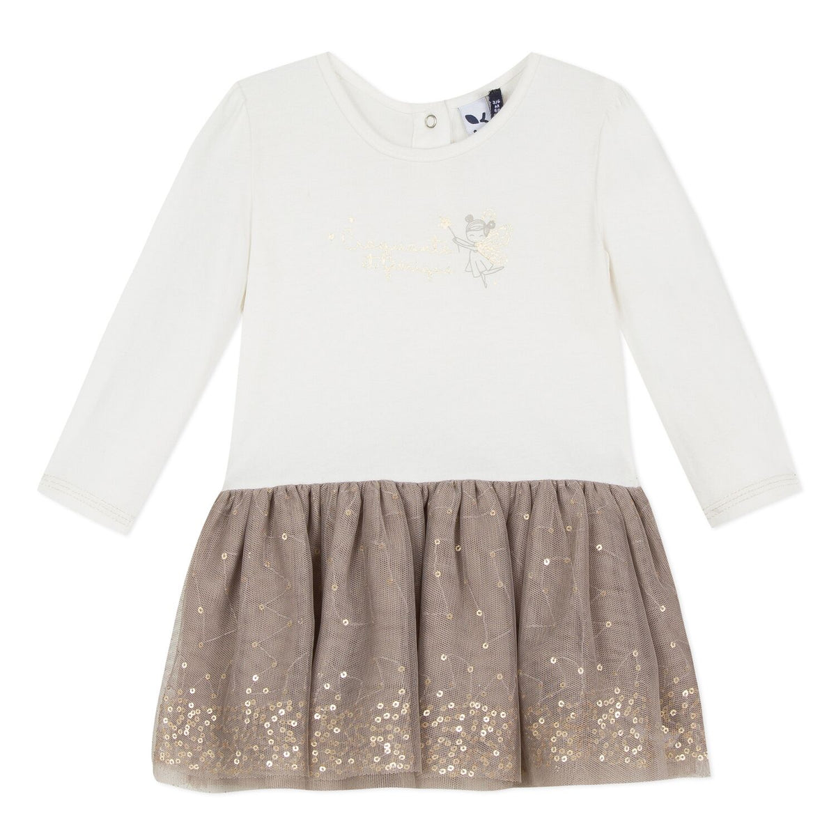 Girls Sequins Fairy Dress