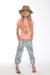 Girls Tropical Print Trousers