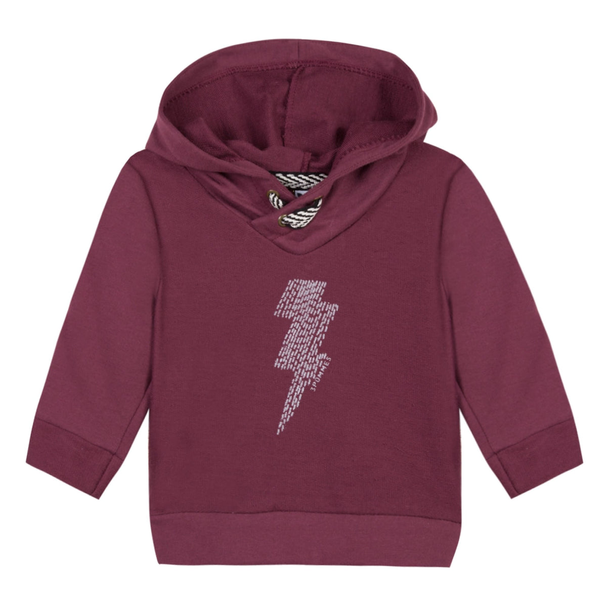 Baby & Toddler Boys Lighting Rod Dark Red Hoodie