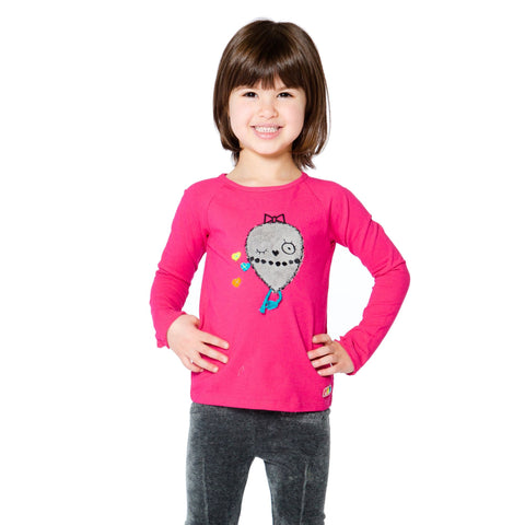 Girls Star Sequins T-Shirt