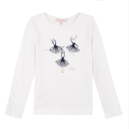 Little Girls Ballerina Top