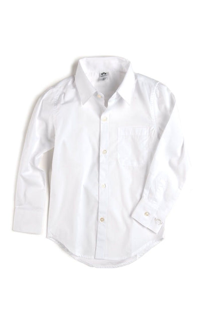 Boys Standard Shirt White