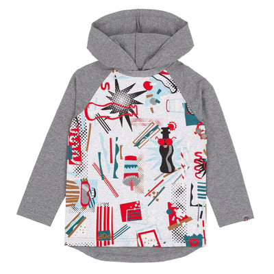 Boys Food Hoodie Top