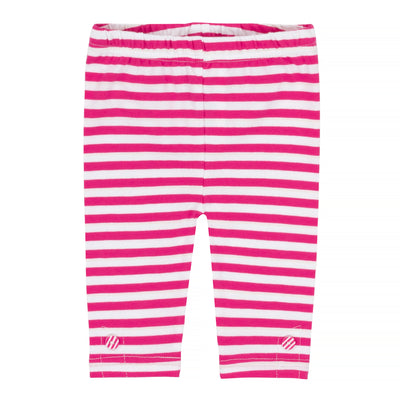 Baby Girls Tunic & Striped Capri Legging Set