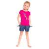 Girls Blue Tencel Short