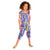 Girls Flower Printed Jumpsuit