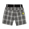 Boys Plaid Bermuda Shorts