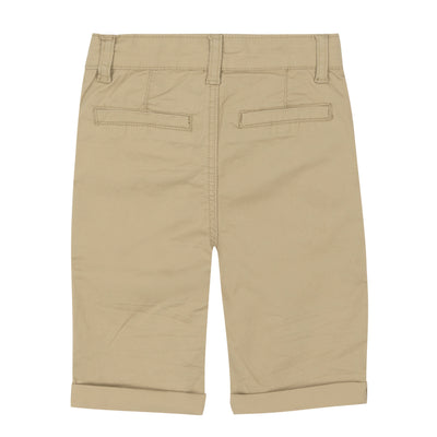 Boys Canvas Bermuda Shorts