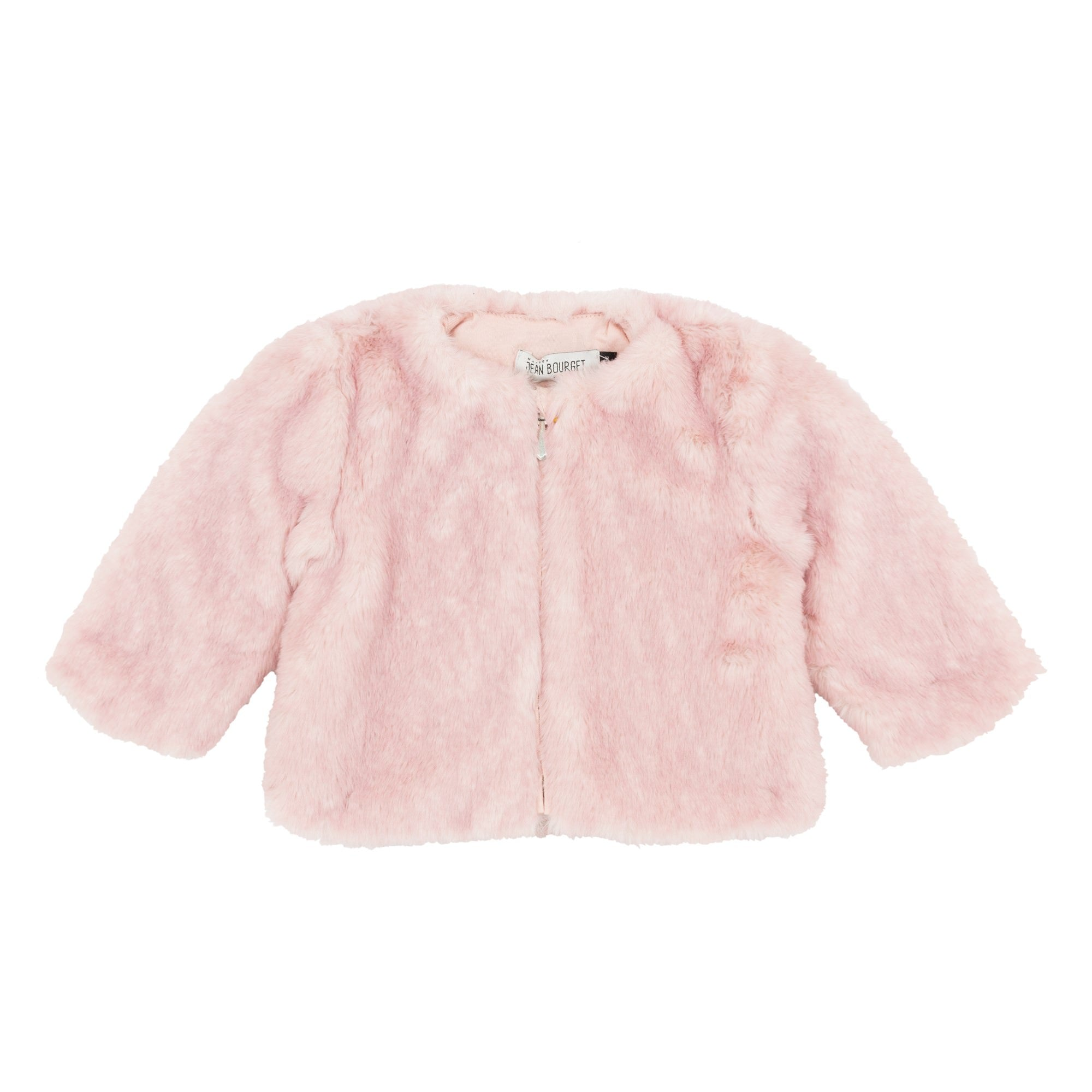 Baby & Toddler Girls Faux Fur Pink Jacket