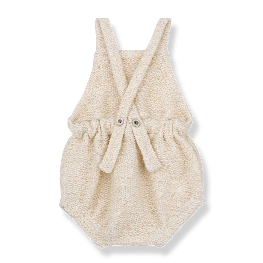 Baby Unisex Fleece Romper