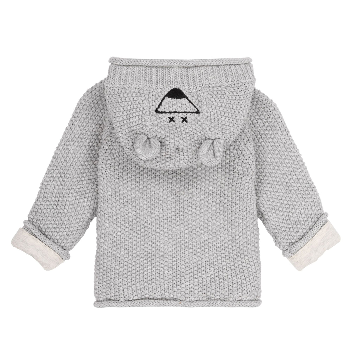 Baby Hoodie Cardigan and Pant Set Organic Cotton