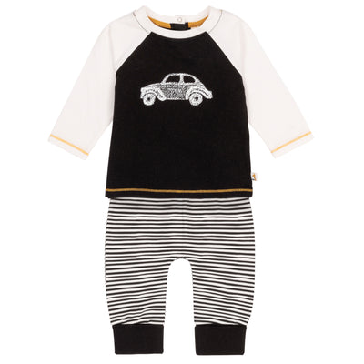 Baby Organic Cotton Top and Pant Set