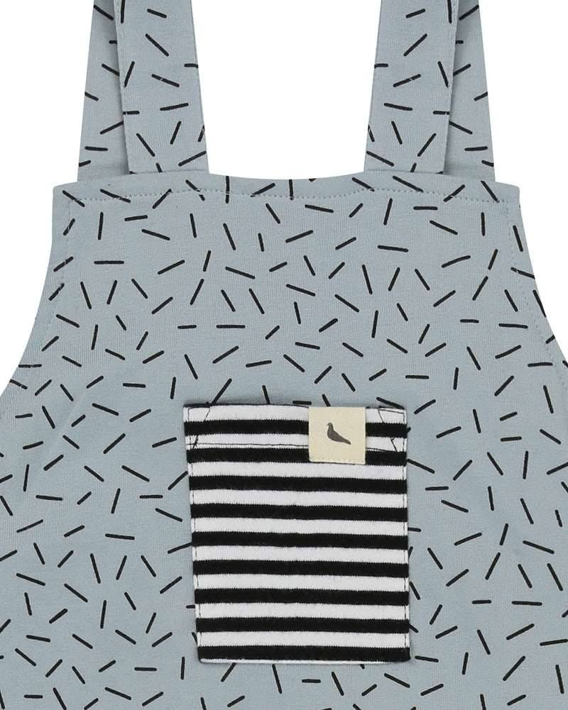 Baby & Toddler Shortie Sprinkle Print Dungaree