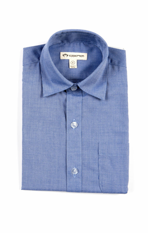 Boys Standard Shirt Blue