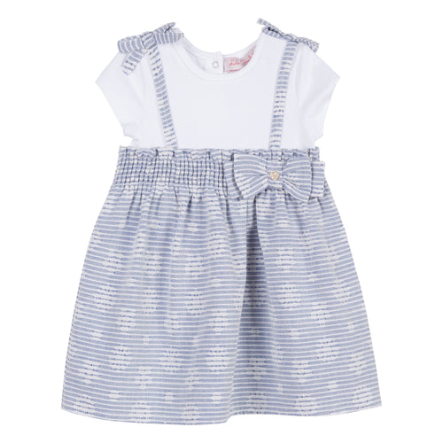 Baby & Toddler Girls White T-Shirt Dress